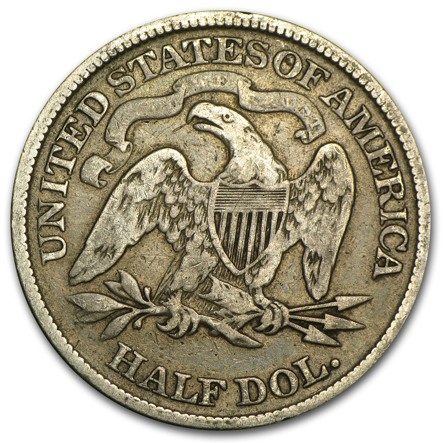1876 Liberty Seated Half DollarFine