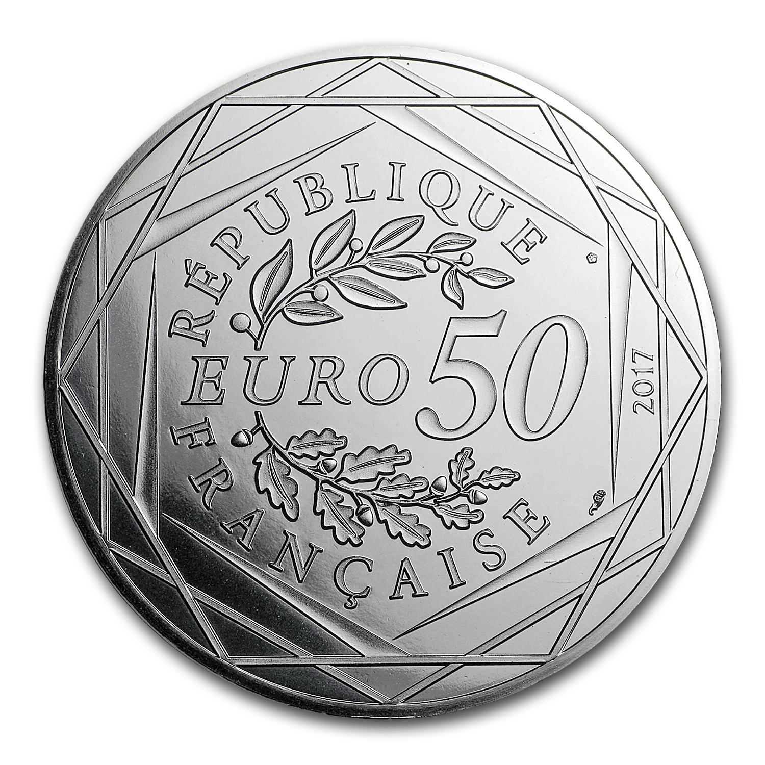 2017 Proof Silver €50 Jean Paul Gaultier (Juillet)