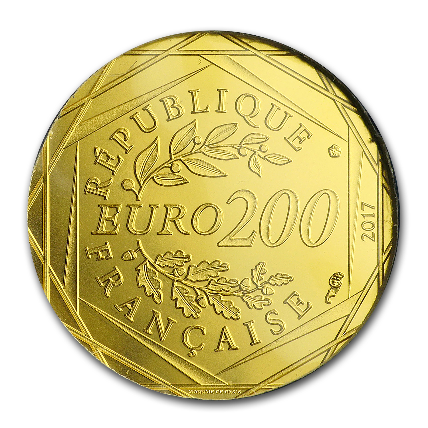 2017 France Proof Gold €200 Jean Paul Gaultier