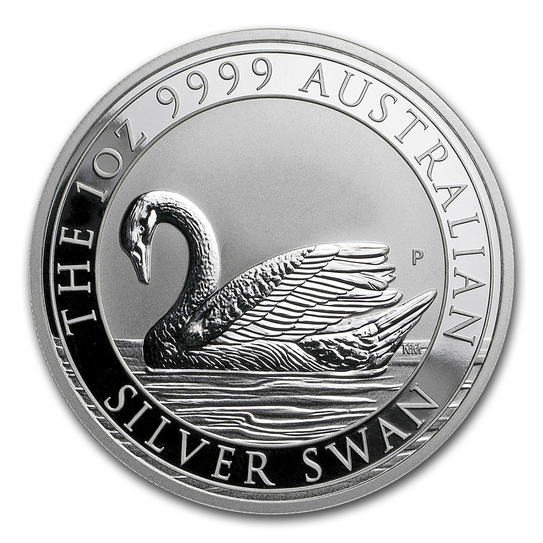 Buy 2017 Australia 1 Oz Silver Swan Bu Online Perth Mint