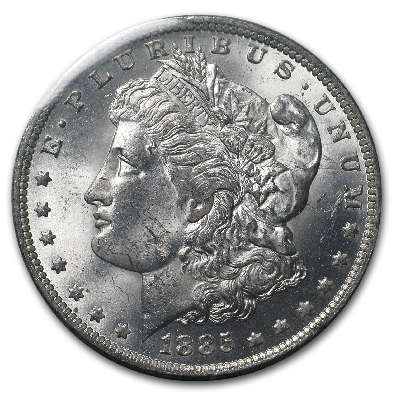 1885-O Morgan Dollar BU (GSA Soft Pack)