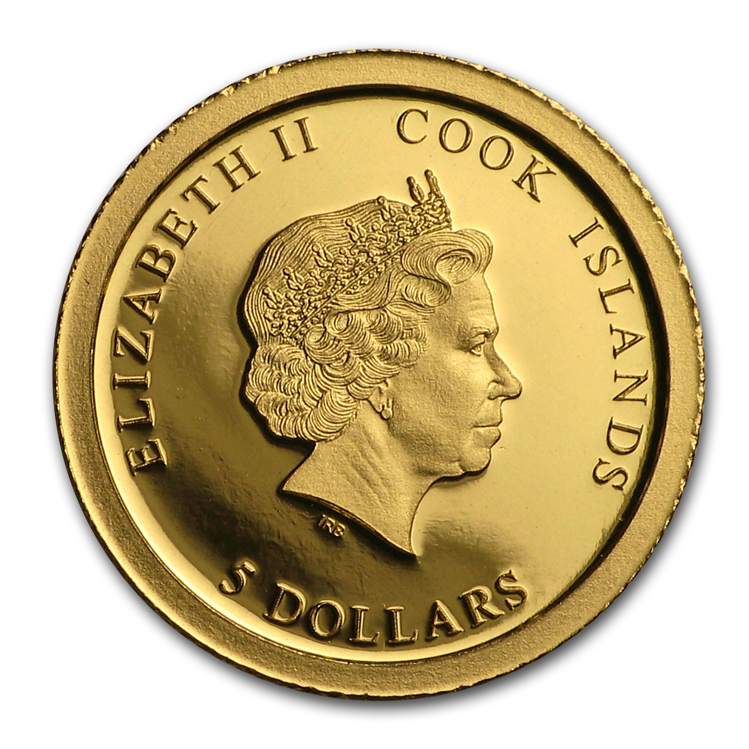 2017 Cook Islands 1/2 gram Gold 100 Anniv of Graf Zeppelin Proof