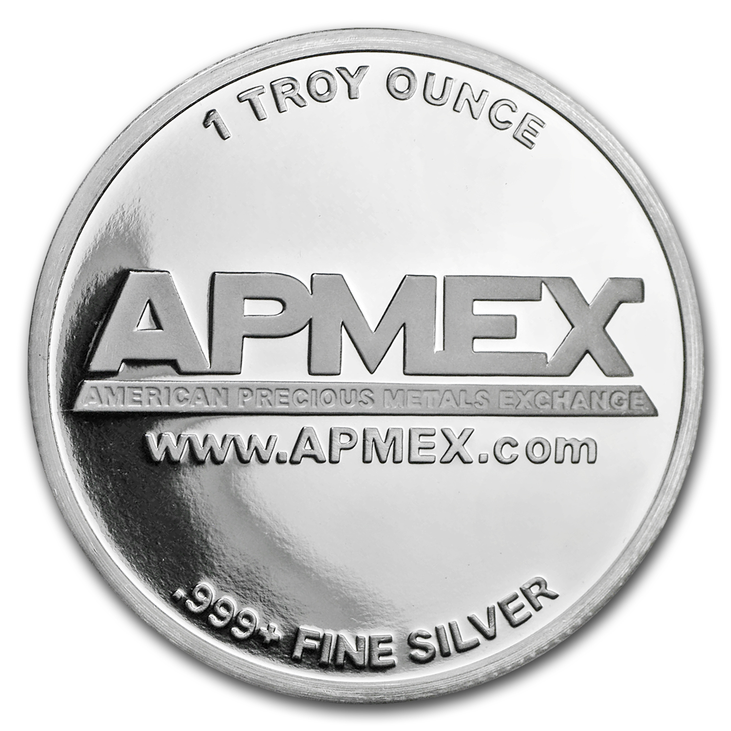 1 oz Silver Colorized Round - APMEX (Thank You - Sky Blue)