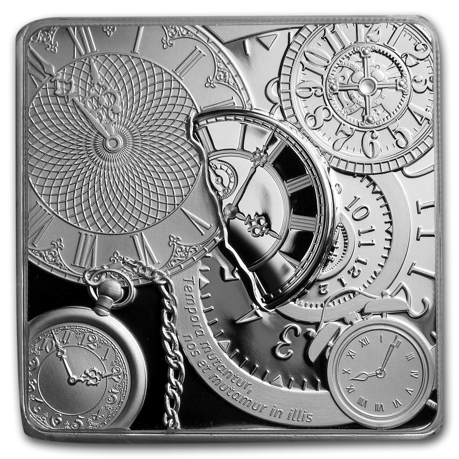 2017 Cook Islands 1 oz Silver Time Capsule Coin