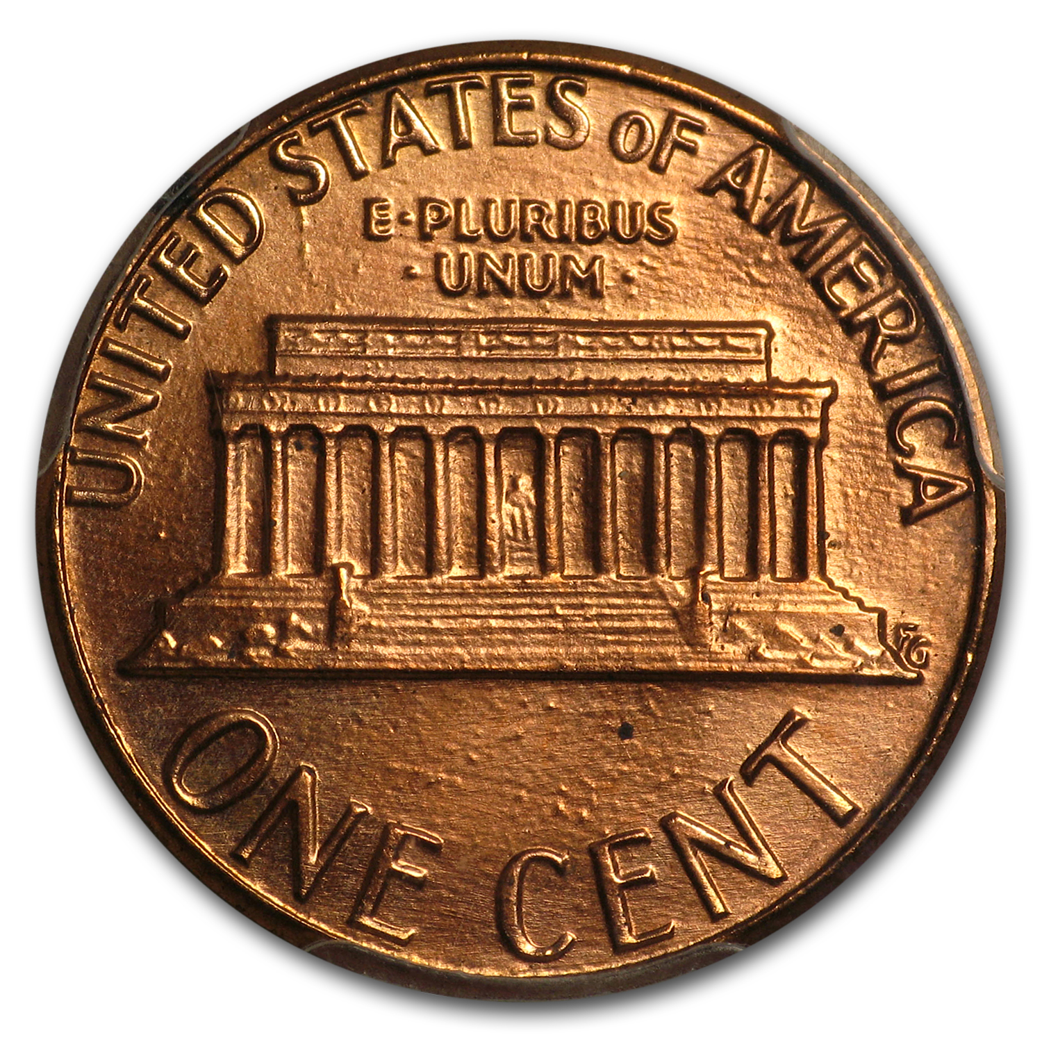 1984 Lincoln Cent Doubled Die Obv MS-67 PCGS (Red)