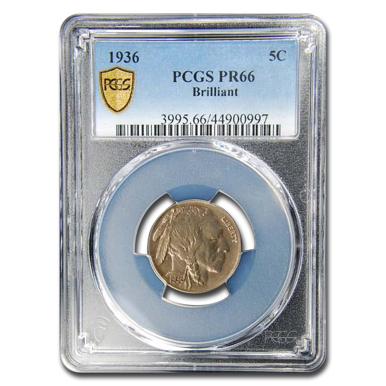 1936 Buffalo Nickel PR-66 PCGS
