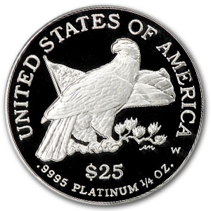 2003-W 1/4 oz Proof Platinum American Eagle PF-69 NGC