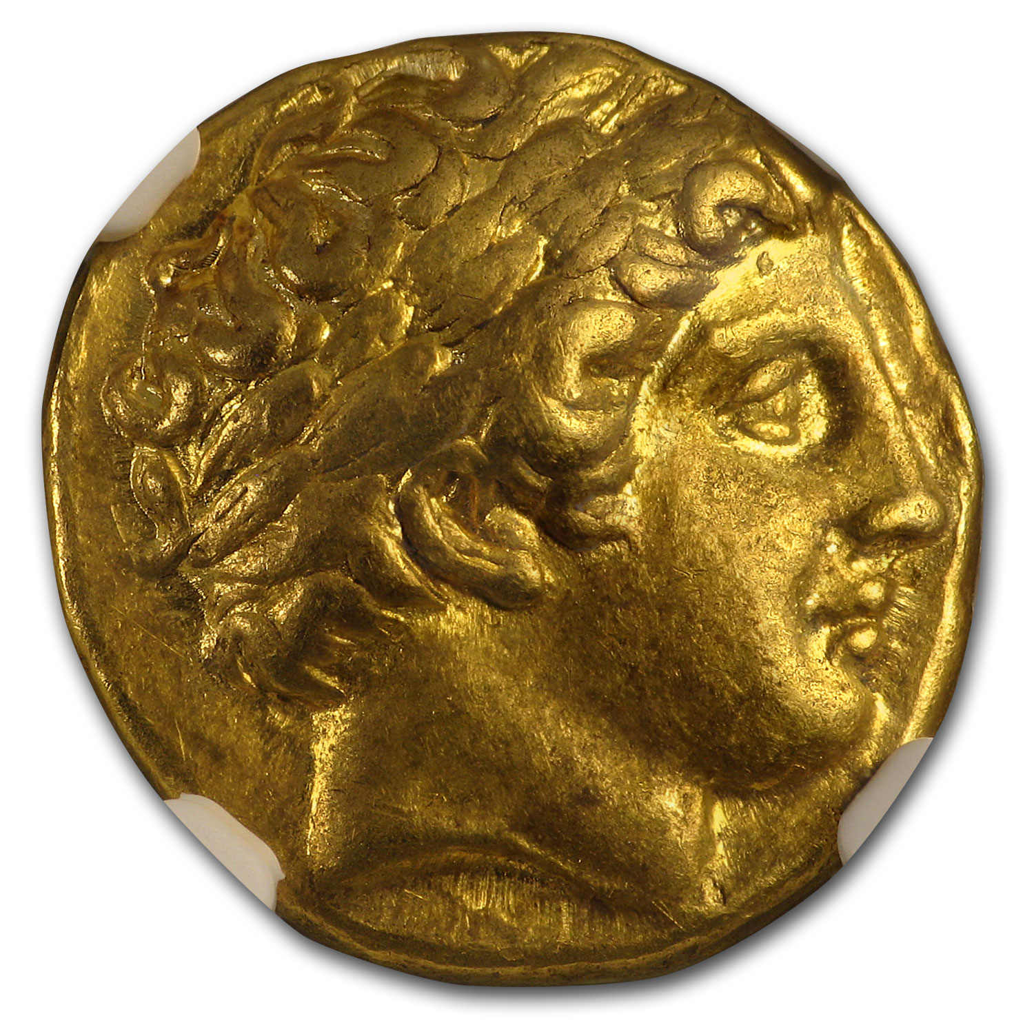 Macedonia Gold Stater of Philip II (359-336 BC) XF NGC