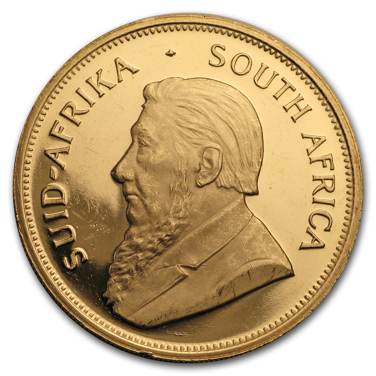 1988 South Africa 1 oz Proof Gold Krugerrand (Scruffy)