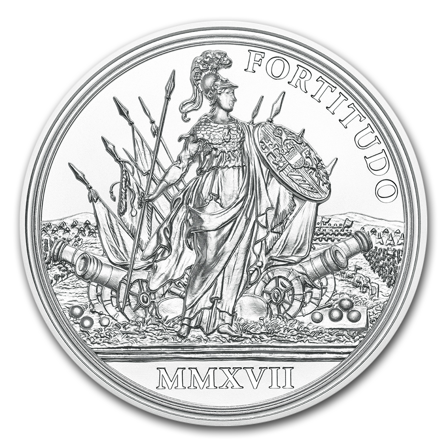 2017 Austria Silver €20 Maria Theresa (Courage and Determination)