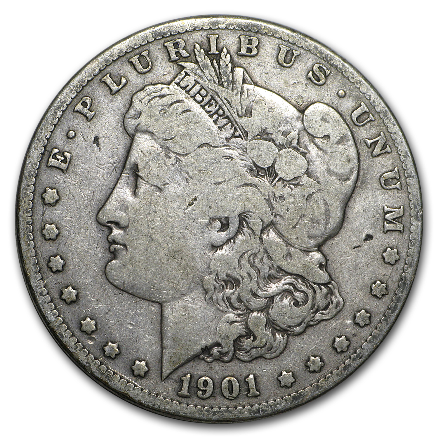 1901-S Morgan Dollar VG/VF