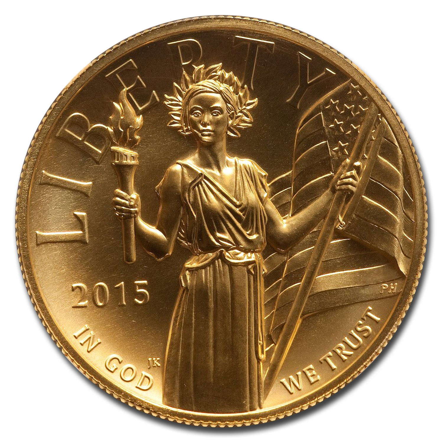 2015 High Relief American Liberty Gold MS-70 NGC (ER)