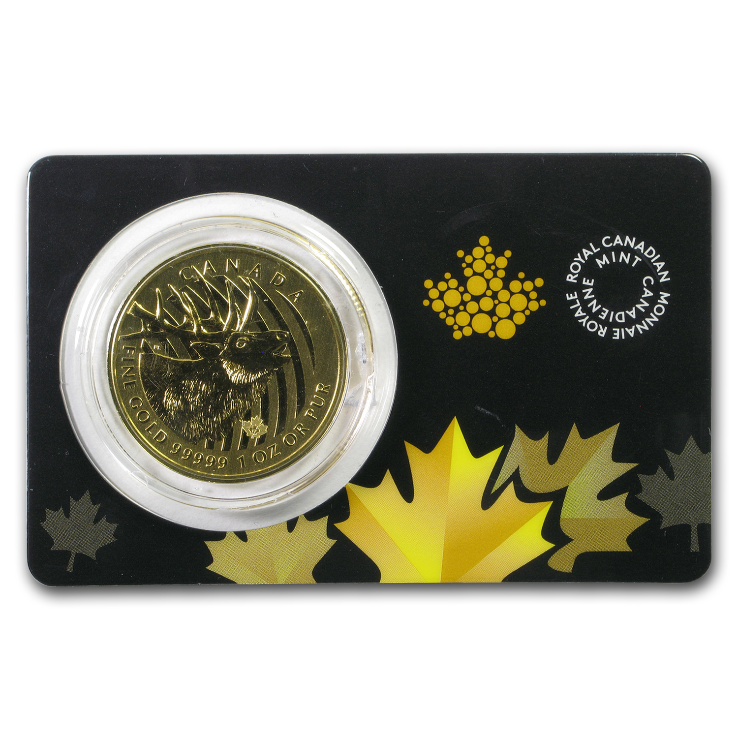 2017 Canada 1 oz Gold Elk .99999 BU (Damaged)