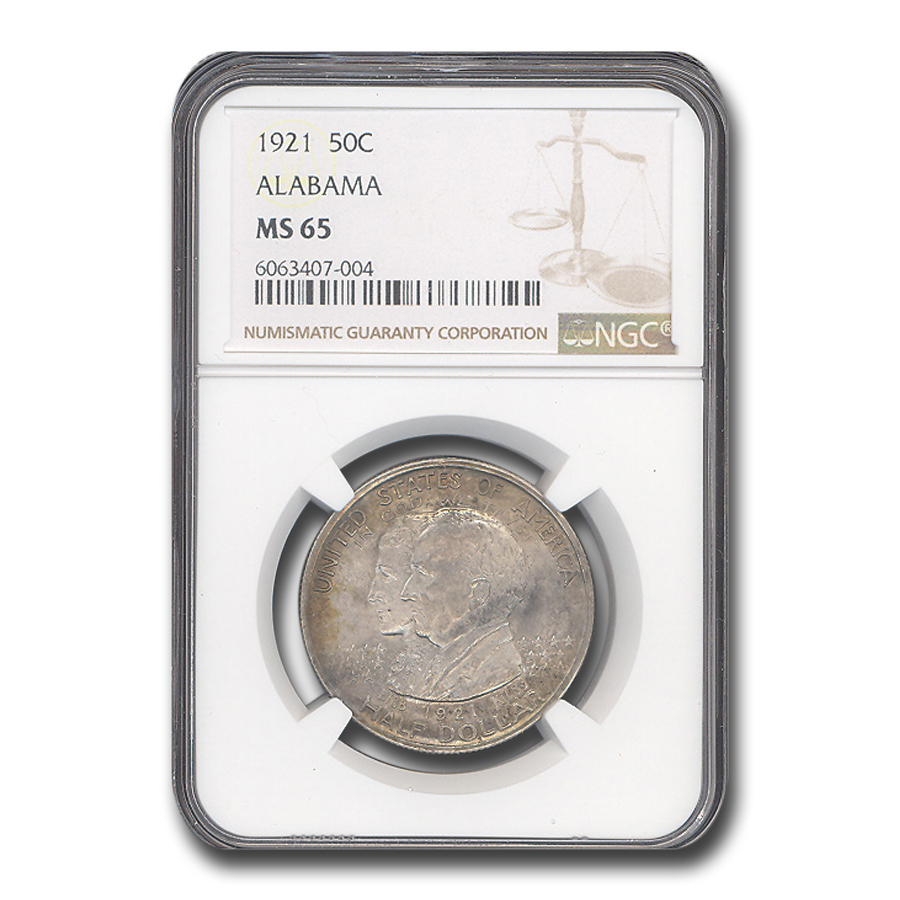 1921 Alabama Centennial Half Dollar MS-65 NGC