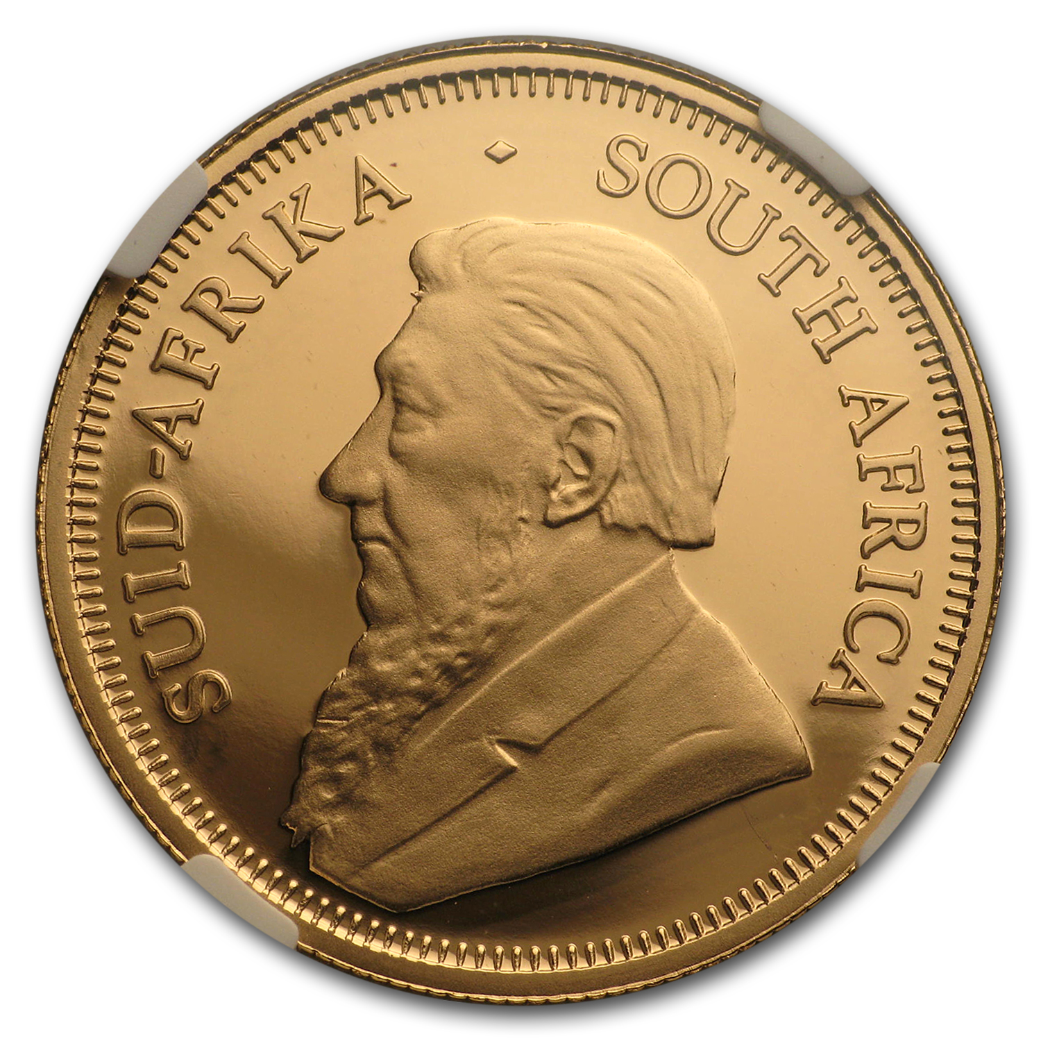 2015 South Africa 1/4 oz Proof Gold Krugerrand PF-69 NGC