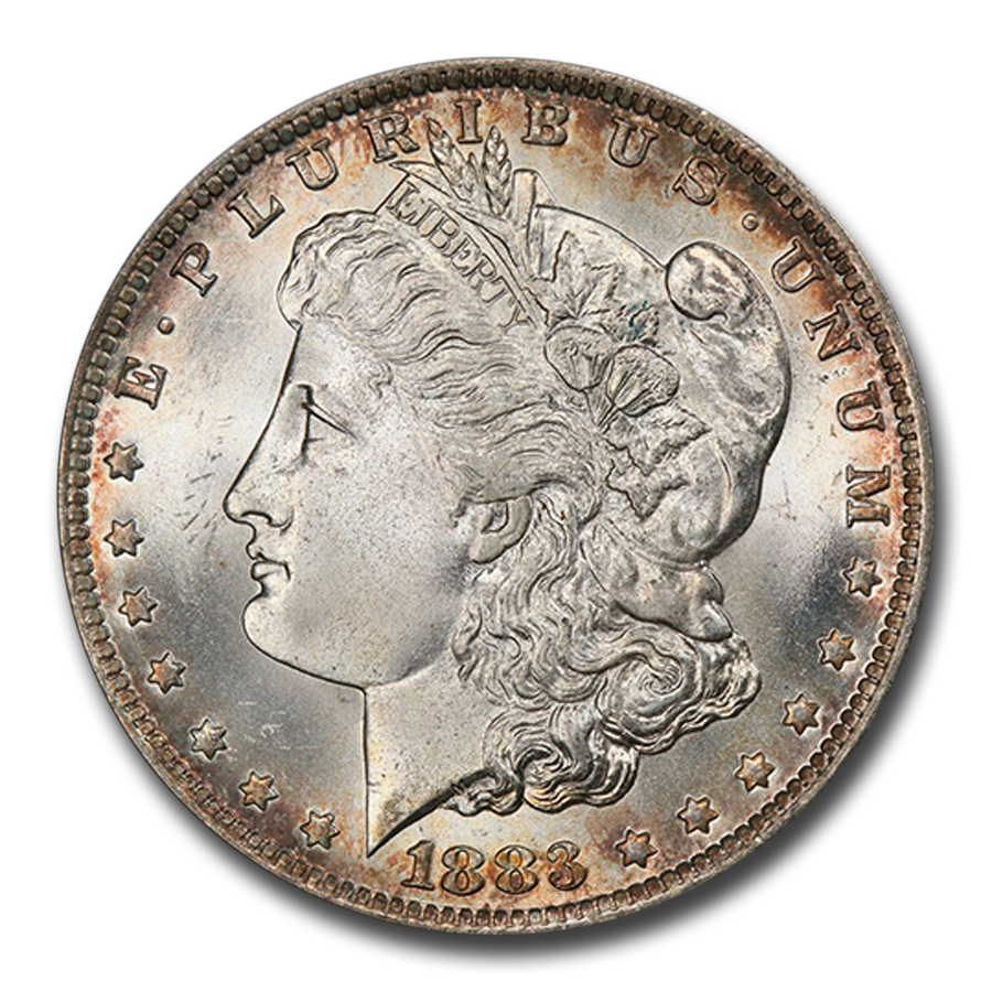 1883-O Morgan Dollar MS-66+ PCGS CAC
