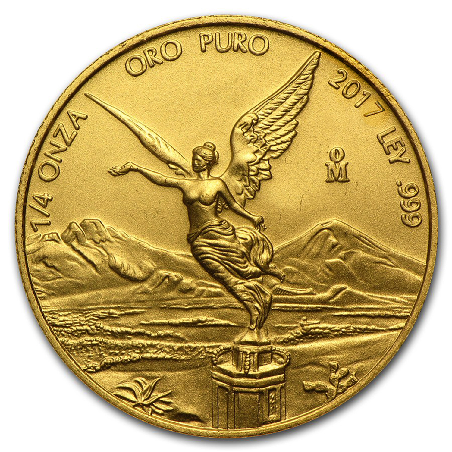 2017 Mexico 1/4 oz Gold Libertad BU