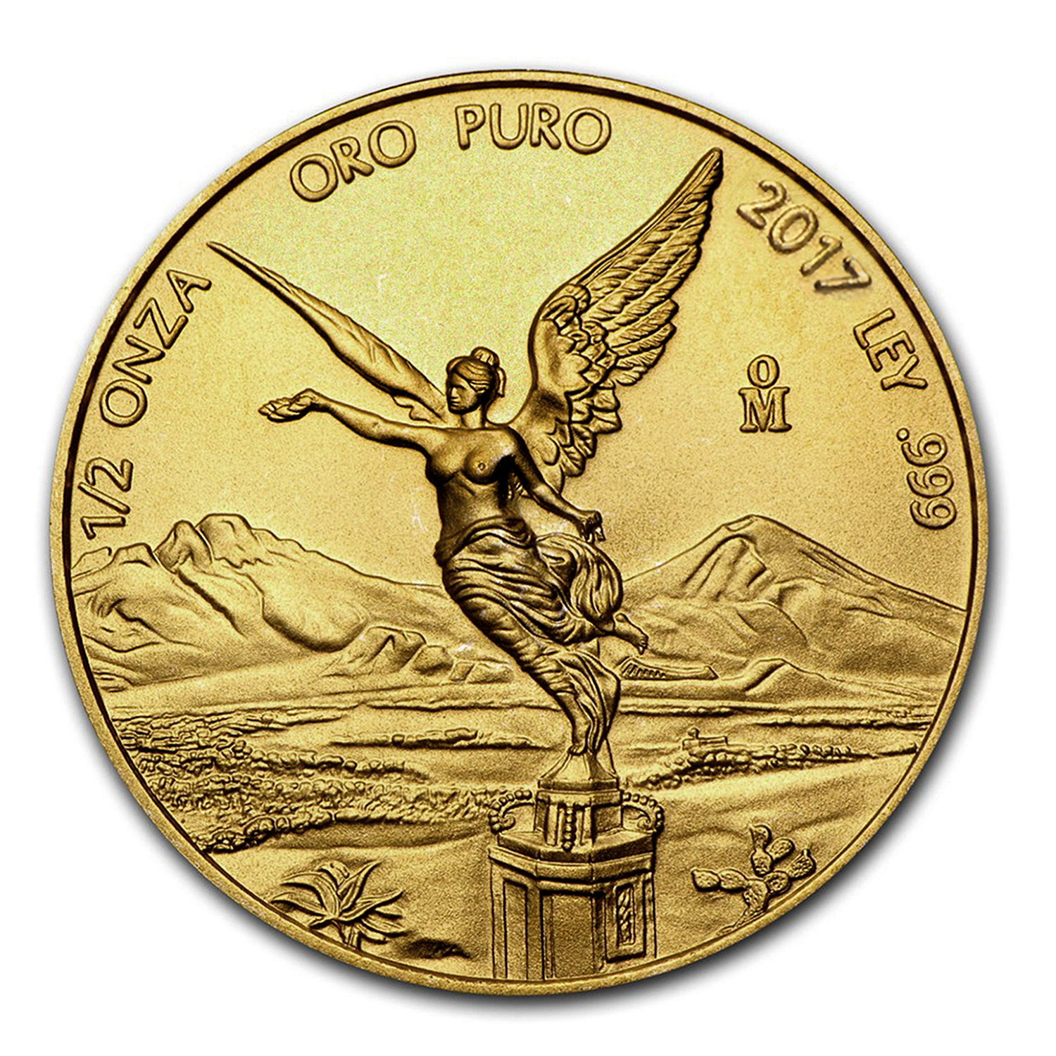 2017 Mexico 1/2 oz Gold Libertad BU