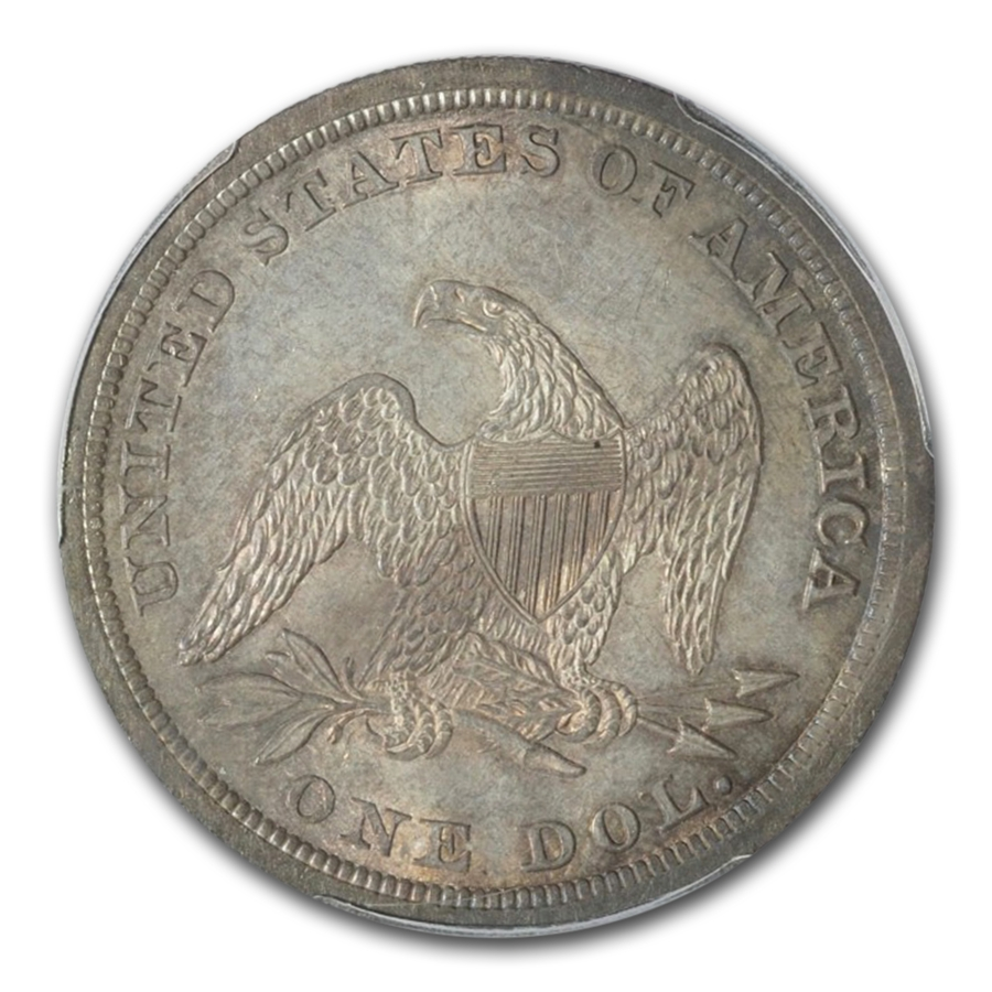 1840 Liberty Seated Dollar MS-64 PCGS