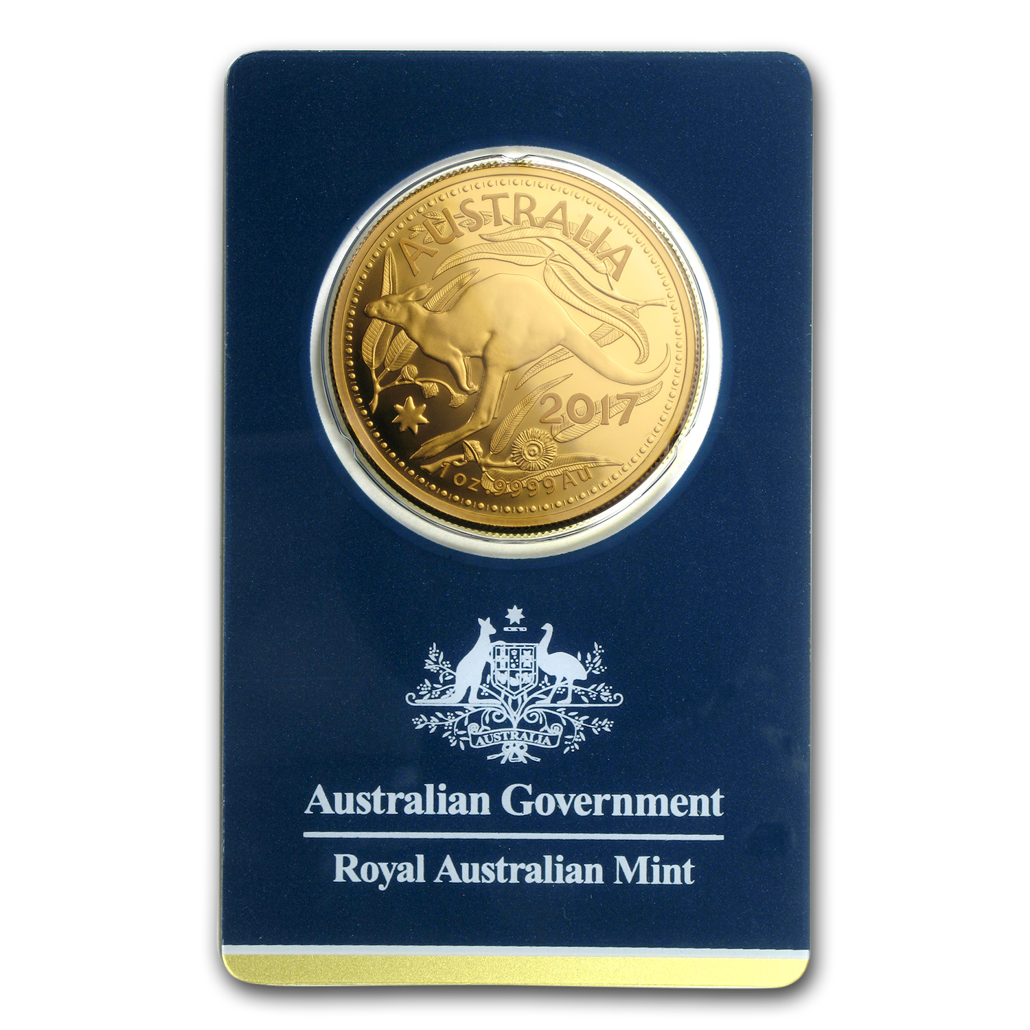 2017 Australia 1 oz Gold RAM Kangaroo (In Assay)