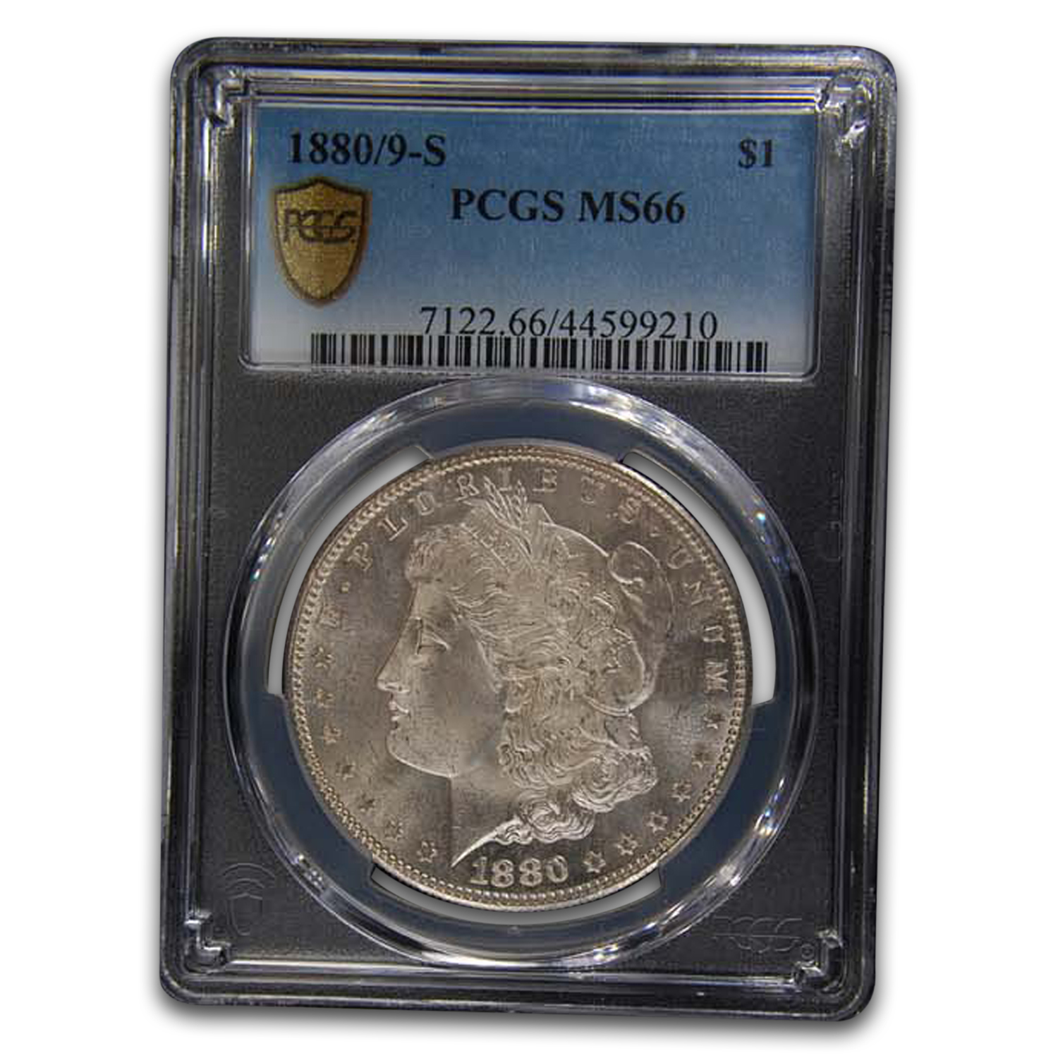 1880/9-S Morgan Dollar MS-66 PCGS