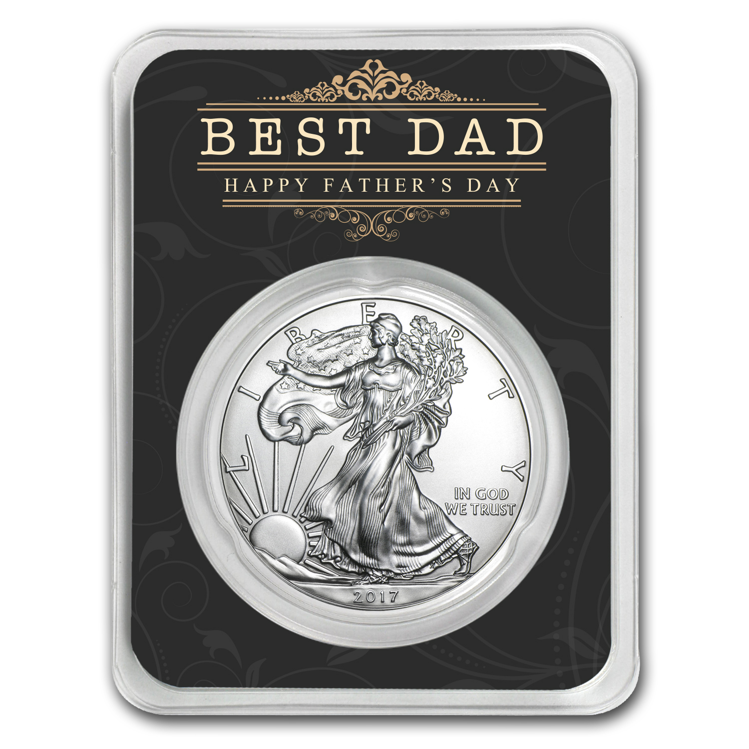 2017 1 oz Silver American Eagle - Father's Day