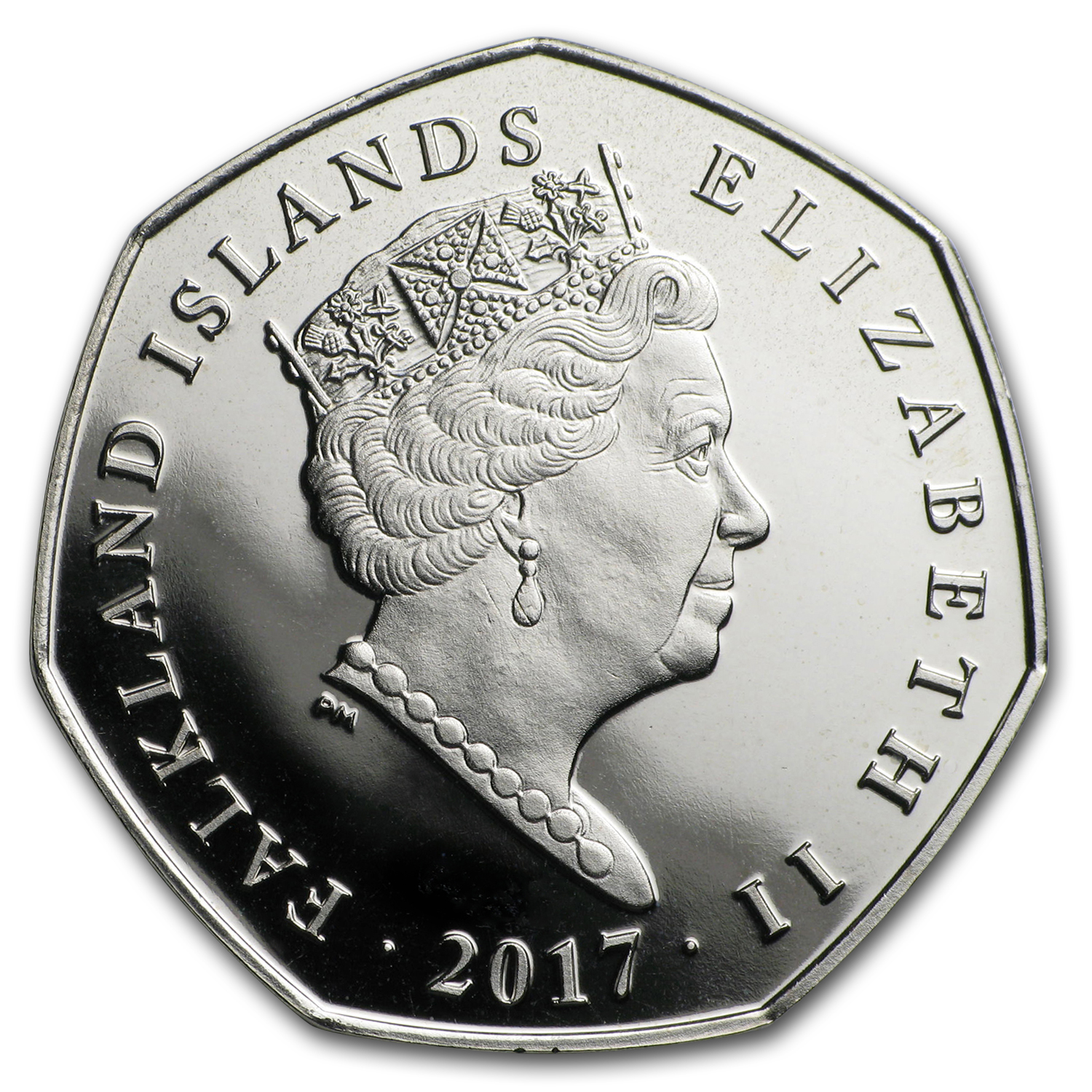 2017 Falkland Islands Cupro-Nickel Penguin Series (Rockhopper)
