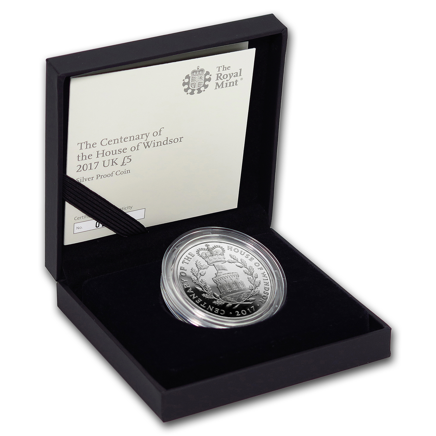 2017 Great Britain £5 Proof Silver House of Windsor