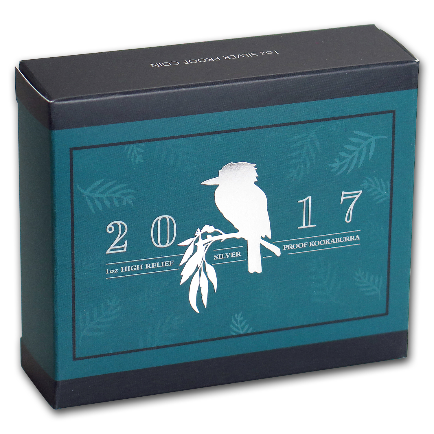 2017 Australia 1 oz Silver Kookaburra Proof (High Relief)