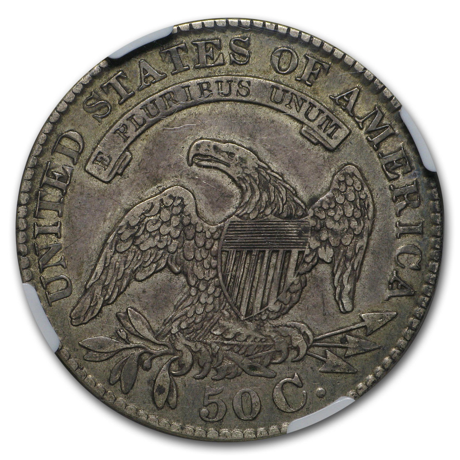 1829 Capped Bust Half Dollar XF-45 NGC