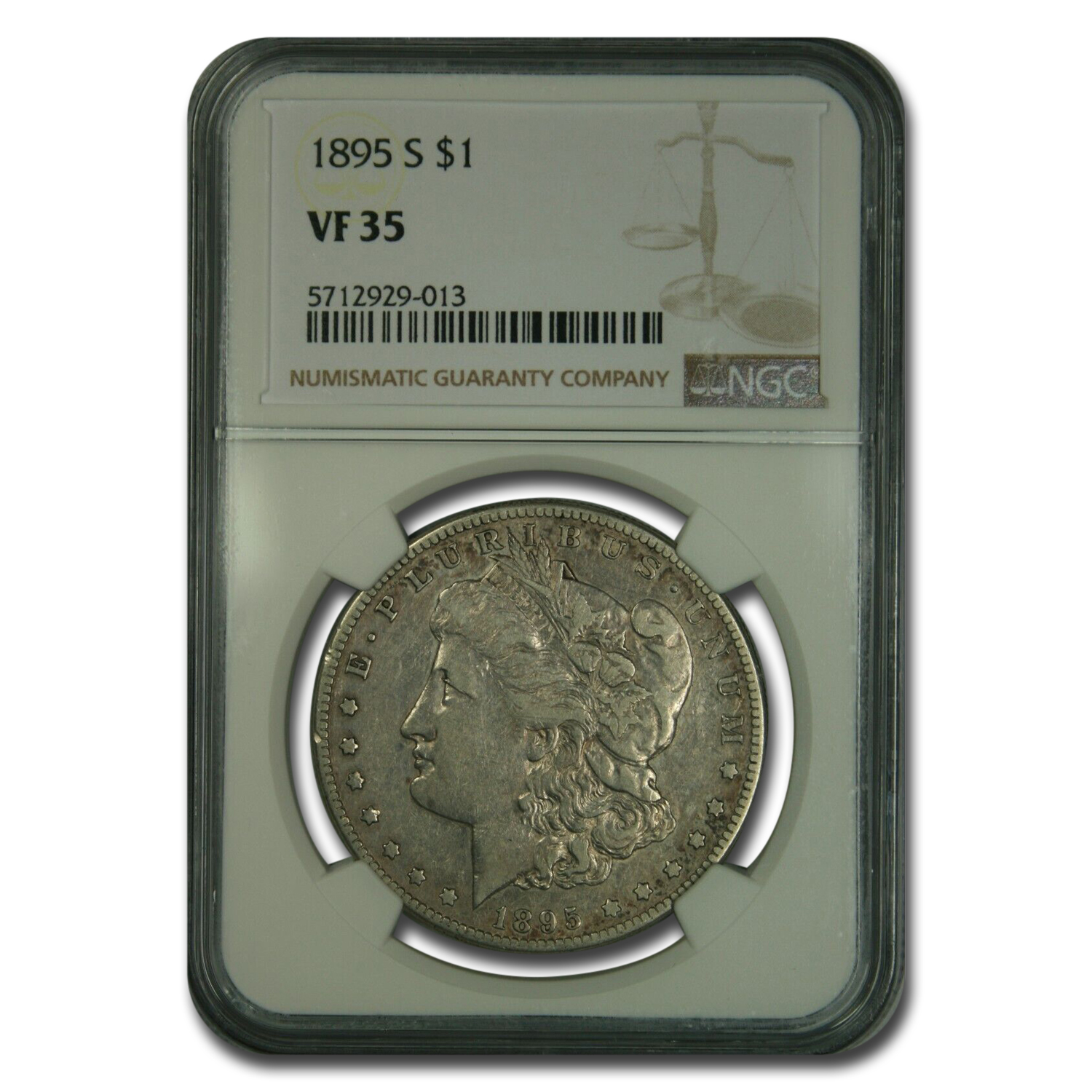 1895-S Morgan Dollar VF-35 NGC