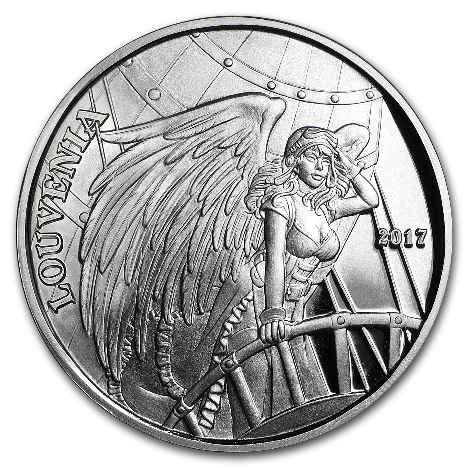 1 oz Silver Proof Round - Angels & Demons Series (Louvenia)