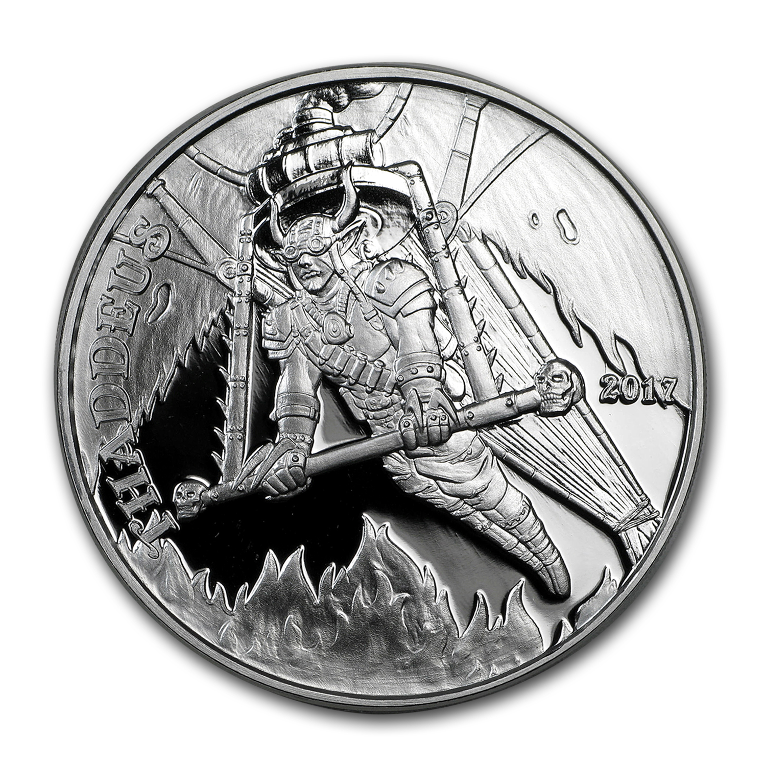 1 oz Silver Proof Round - Angels & Demons Series (Thaddeus)