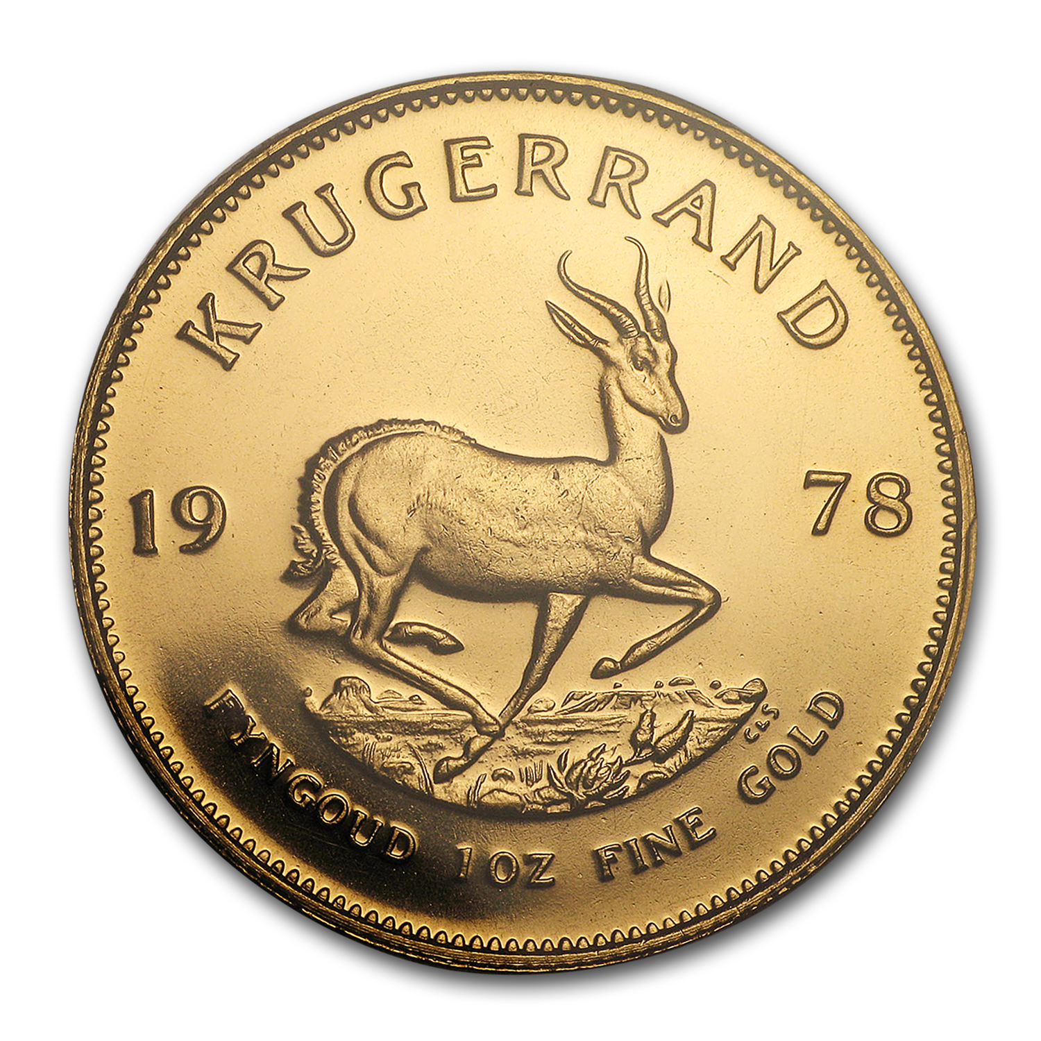 1978 South Africa 1 oz Gold Krugerrand MS-64 PCGS