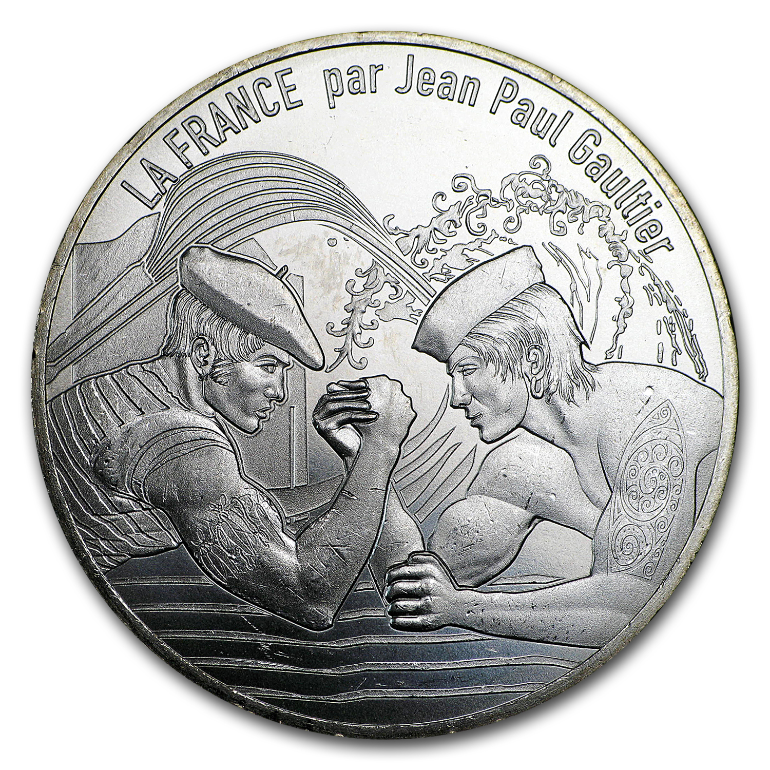 2017 Proof Silver €10 Jean Paul Gaultier (Pays Basque)