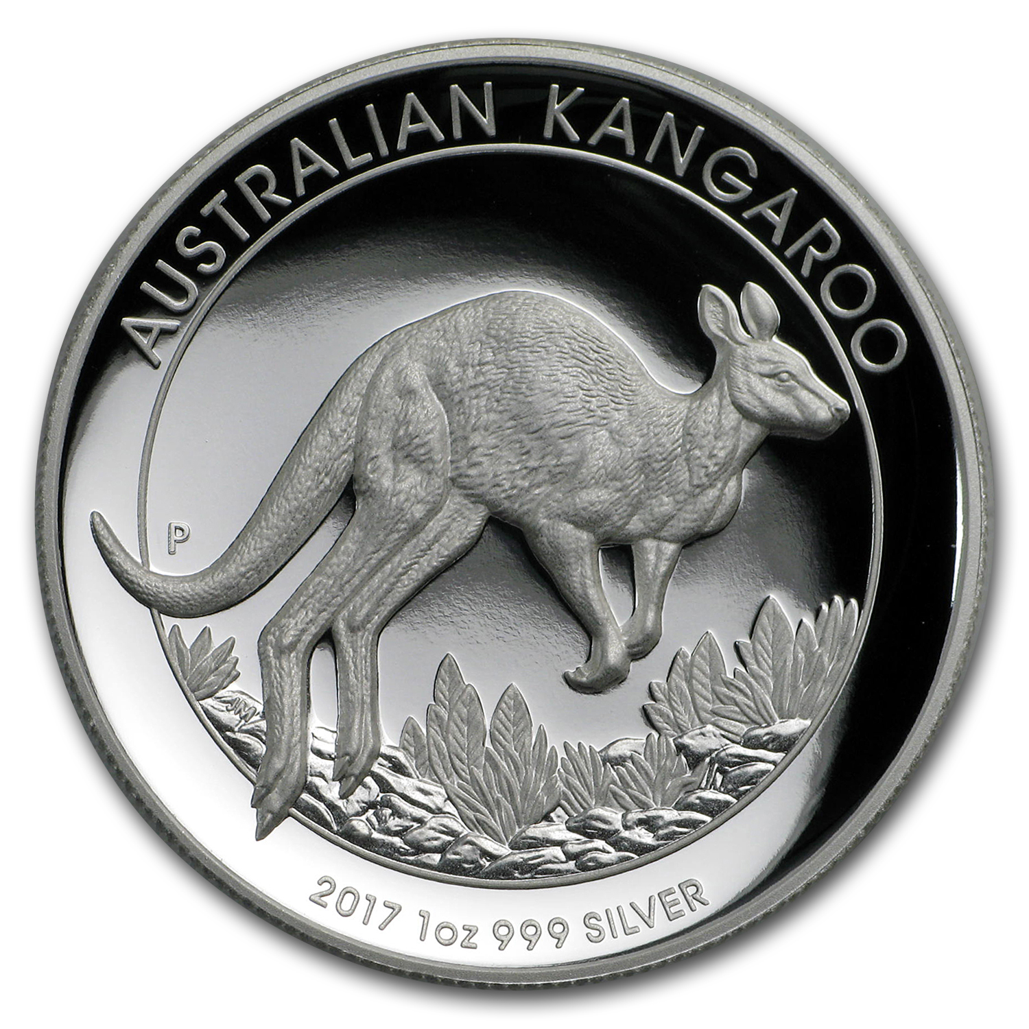 2017 Australia 1 oz Silver Kangaroo Proof (High Relief)
