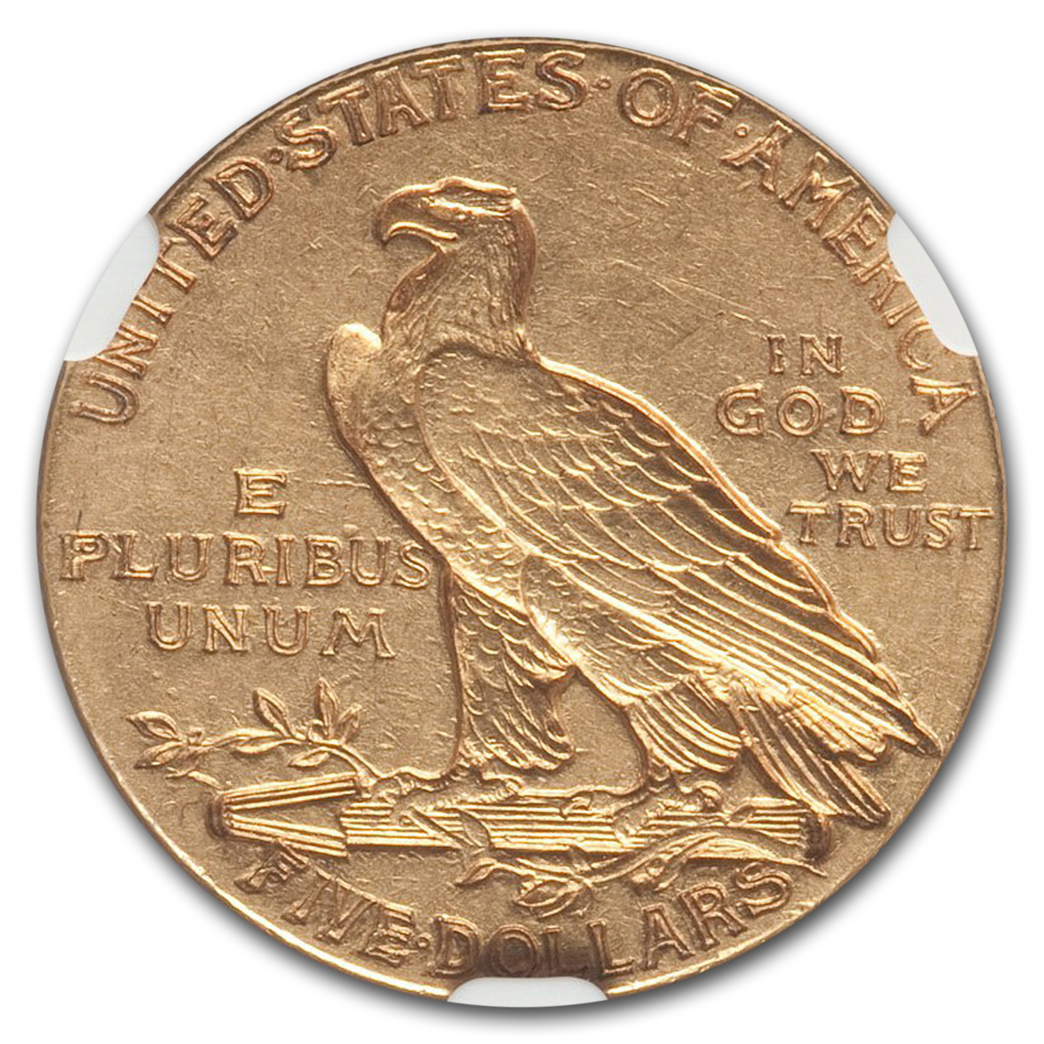 1913-S $5 Indian Gold Half Eagle AU-50 NGC