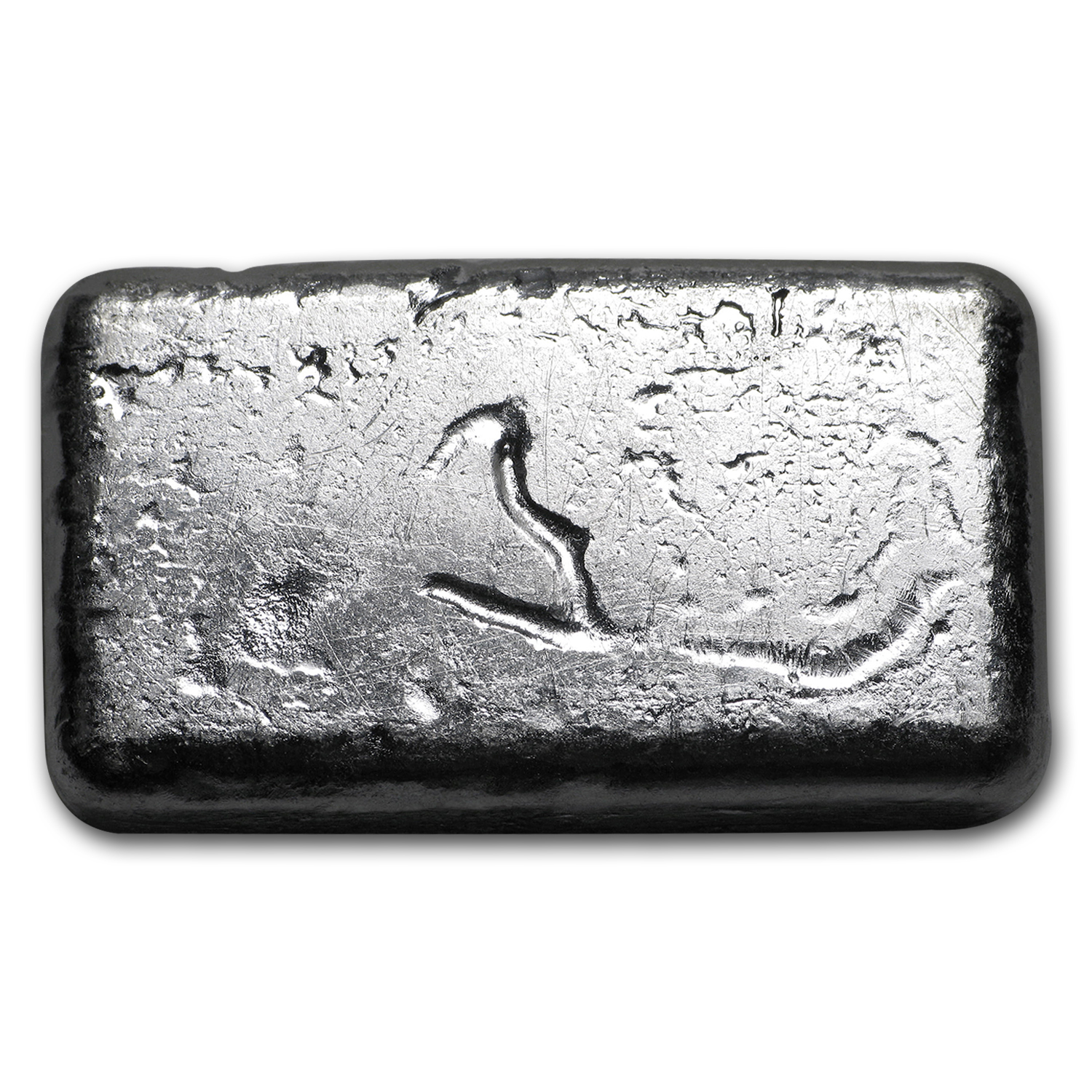 2 oz Silver Bar - Yeager Poured Silver (Bare Bones Bullion)