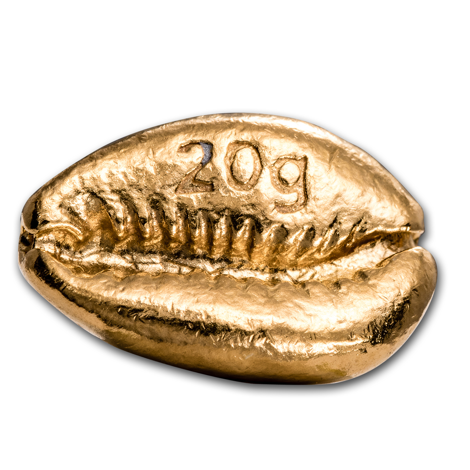 20 gram Gold Money Cowrie - Metal Concentrators