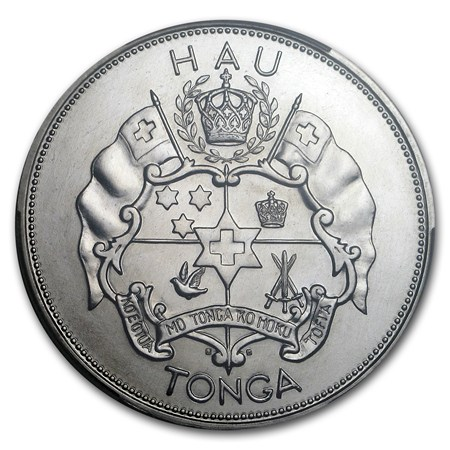 1967 Tonga 1 Hau Palladium Palladium Coins All Other