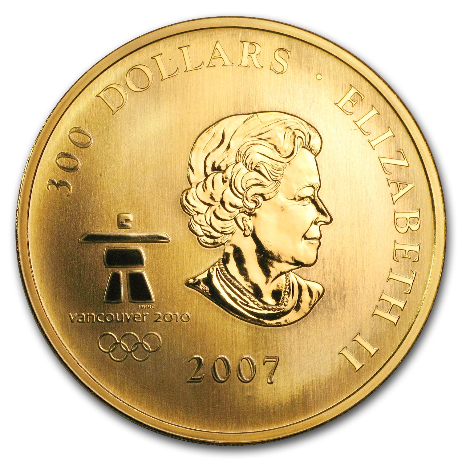 2007 Canada Proof Gold $300 Olympic Ideals (Capsule Only)