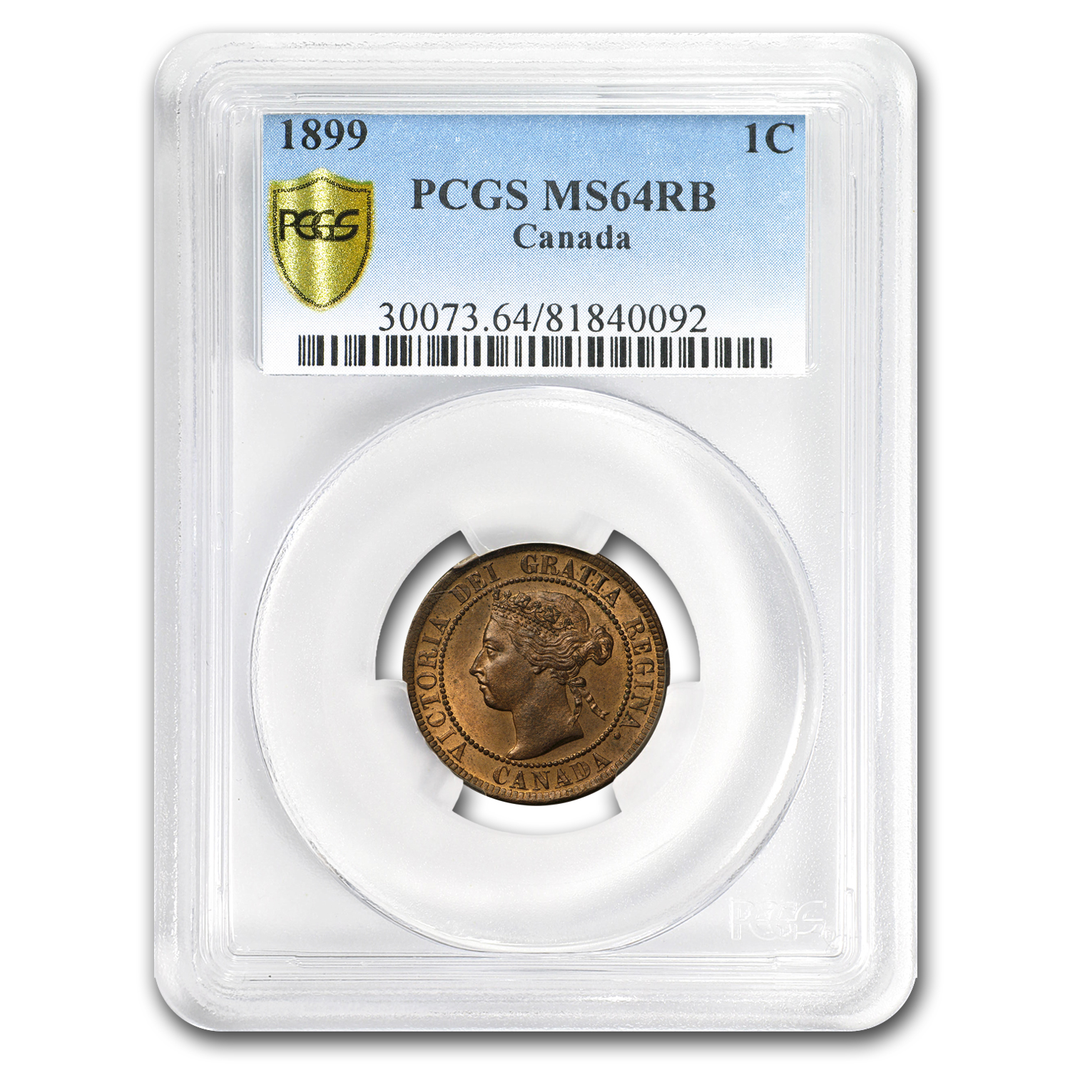 1899 Canada Large Cent MS-64 RB PCGS