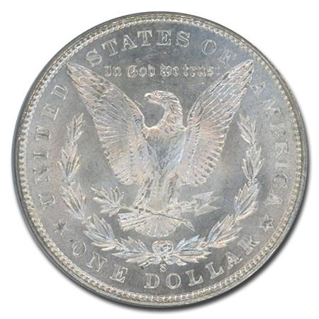 1901 S Morgan Dollar Ms 64 Pcgs Morgan Dollars 1878