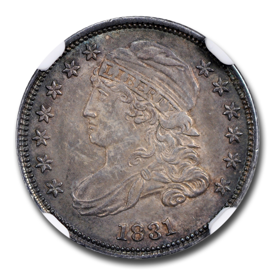 1831 Capped Bust Dime MS-64 NGC