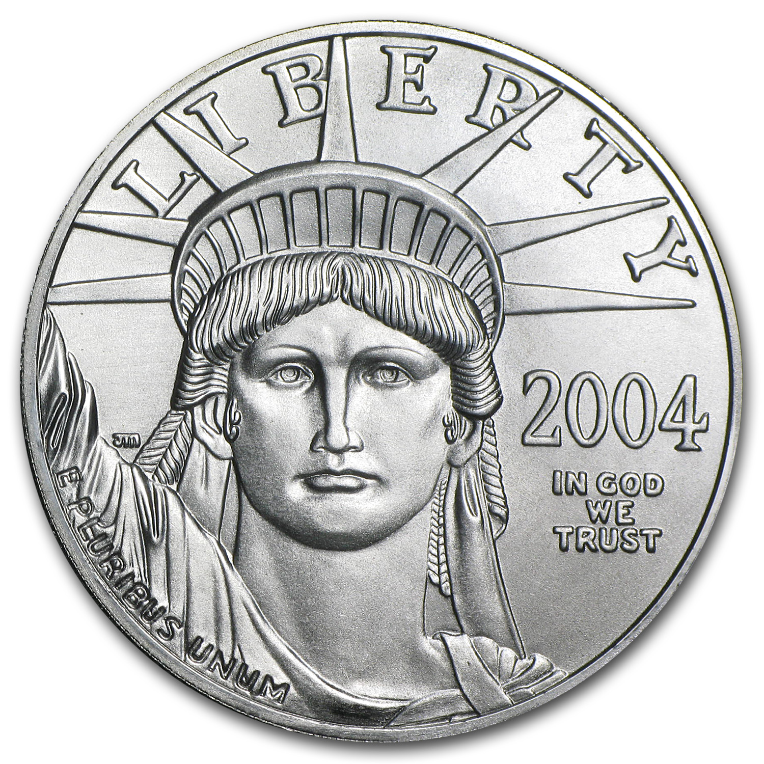 2004 1 oz Platinum American Eagle - Brilliant Uncirculated