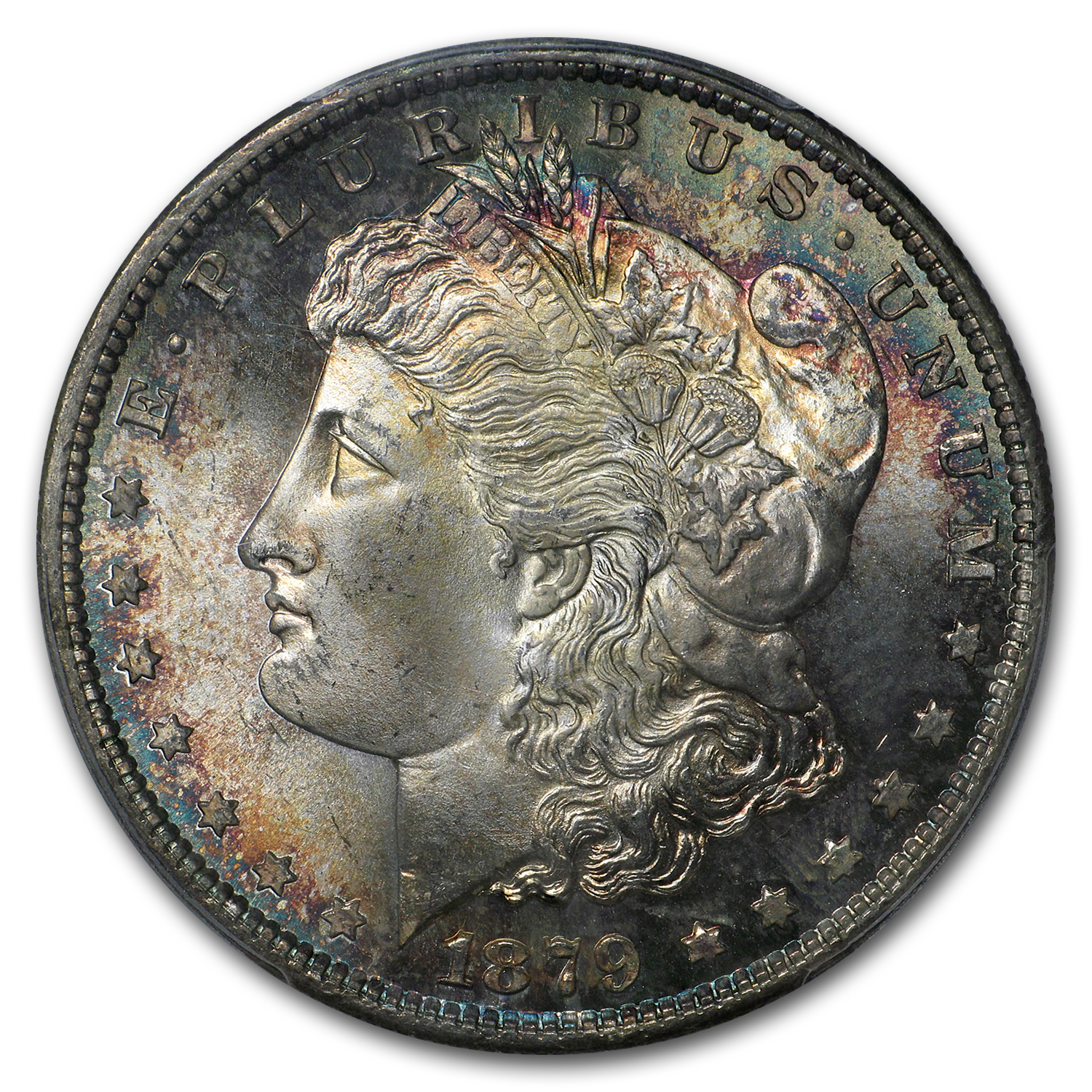 1879-S Morgan Dollar MS-67+ PCGS (CAC, Toned)