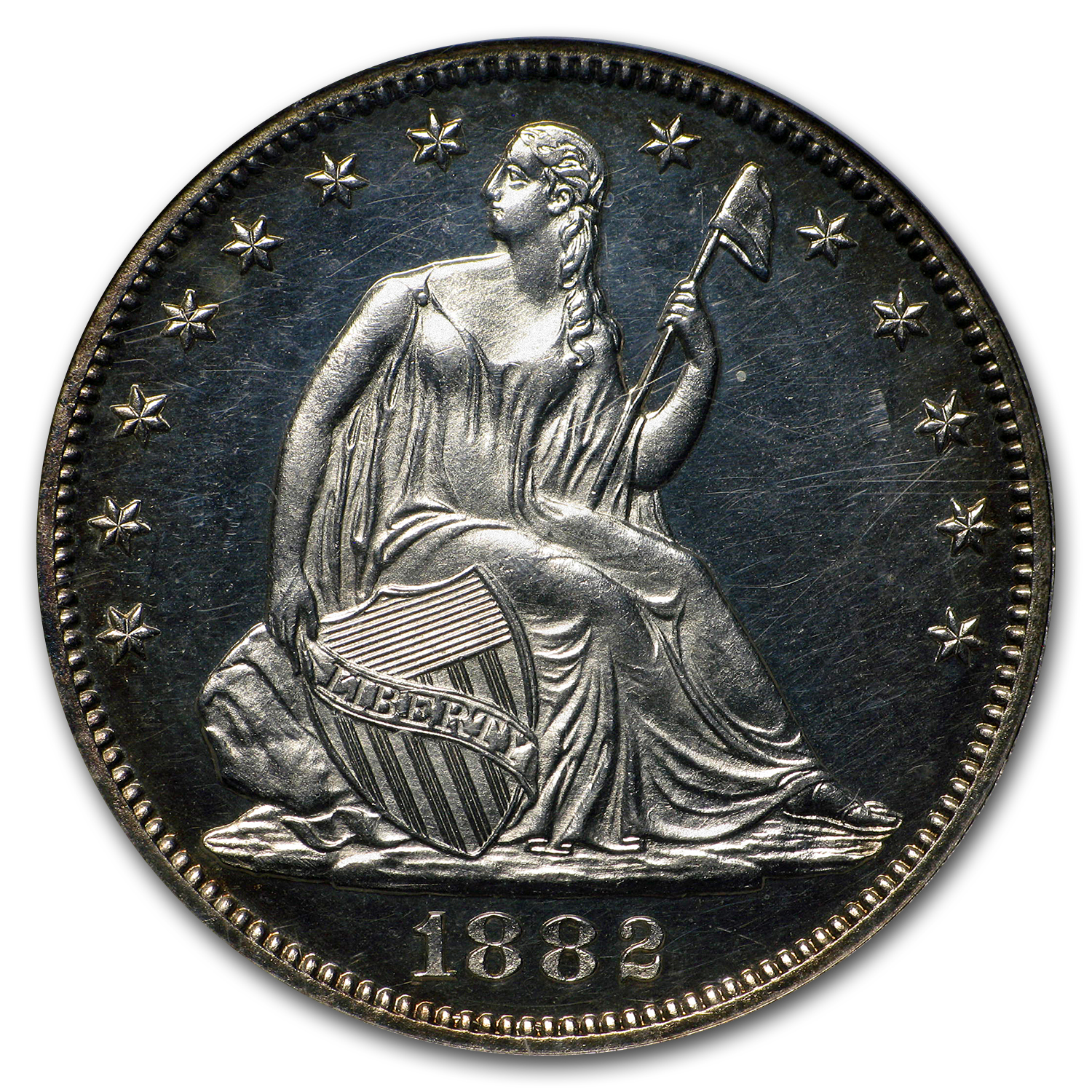 1882 Liberty Seated Half Dollar PF-63 Cameo NGC