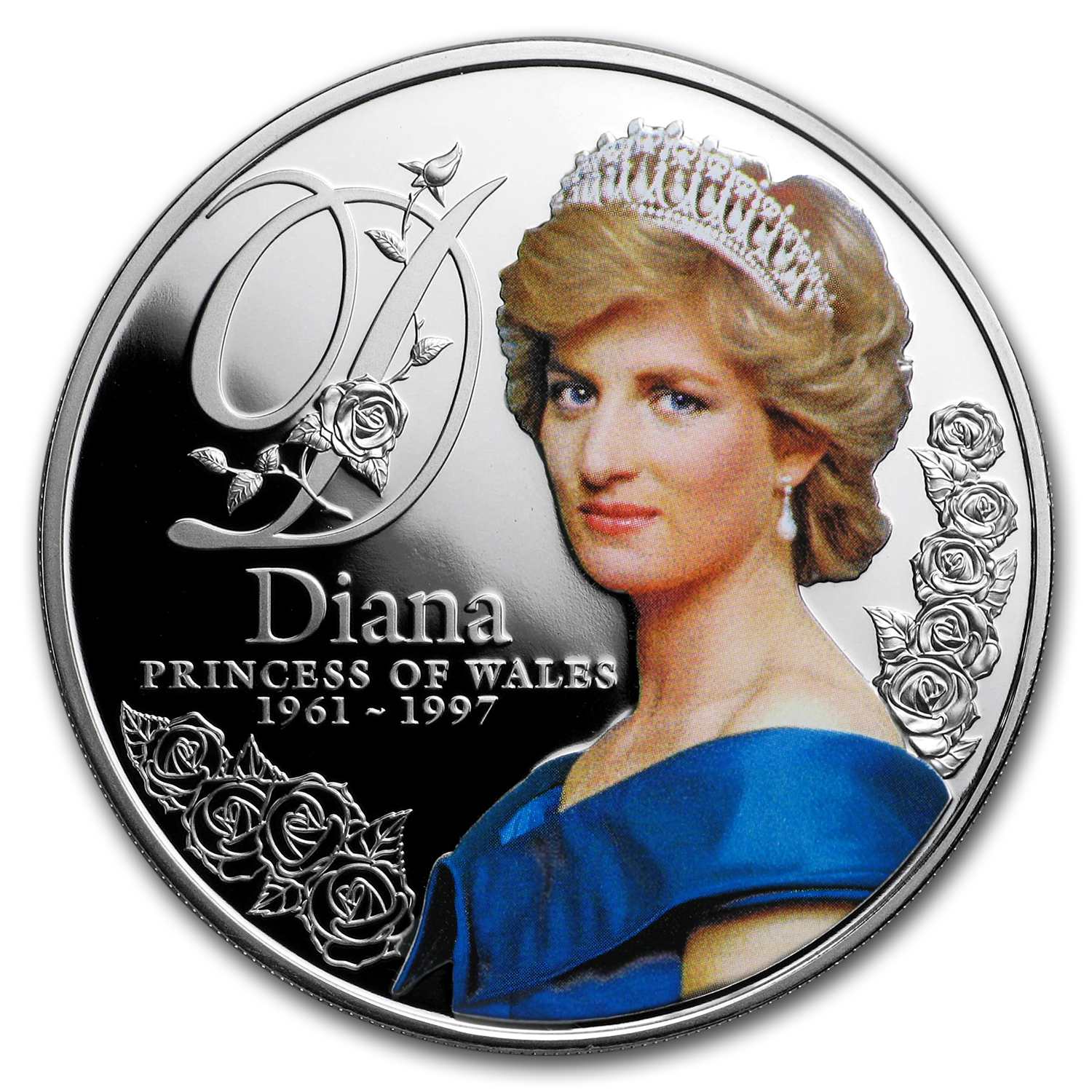 2017 Tokelau Proof Silver Diana Princess Of Wales Silver