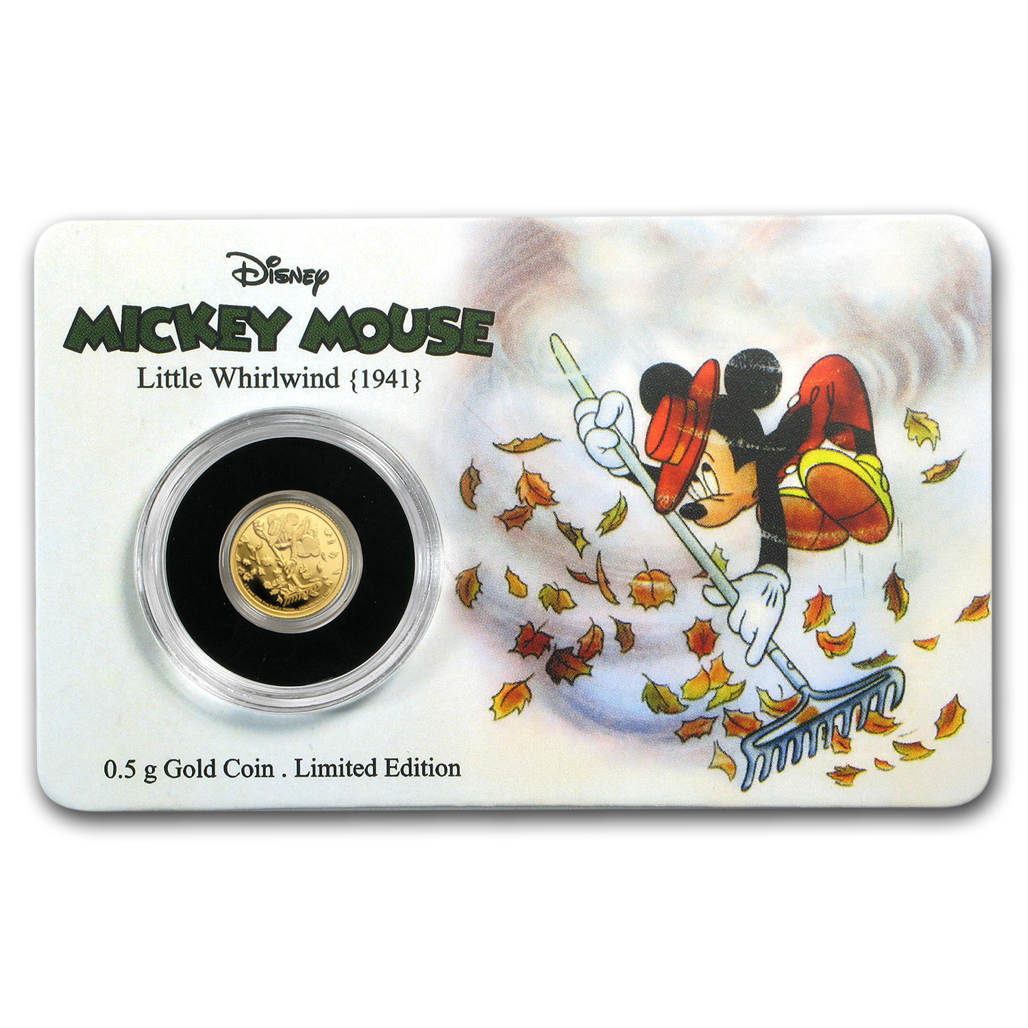 2017 1/2 gm $2.50 Mickey Through the Ages: The Little Whirlwind