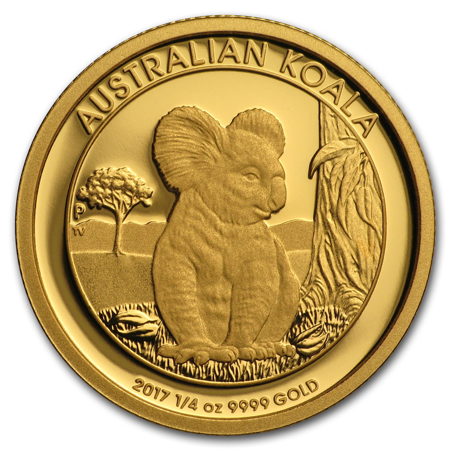 2017 Australia 1/4 oz Gold Koala Proof